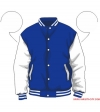 Varsity-City Jacket - Blue and White