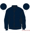 Varsity-City Jacket - Navy Stealth