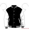 Varsity-City Jacket - Black and White