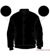 Varsity-City Jacket - Stealth Black