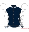 Varsity-City Jacket - Navy and White